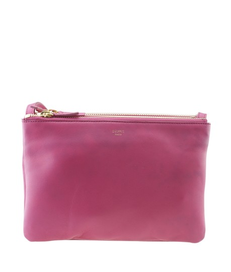 Preload https://img-static.tradesy.com/item/25871539/celine-trio-small-175583-pink-leather-cross-body-bag-0-0-540-540.jpg