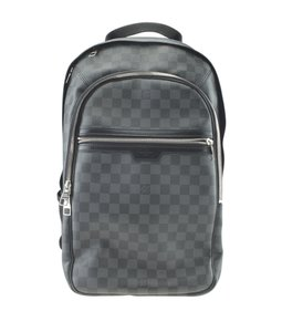 Louis Vuitton Louis Vuitton N58024 Michael Damier Graphite Backpack (175408)