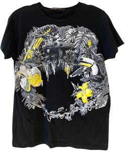 Balenciaga T Shirt Black and Yellow