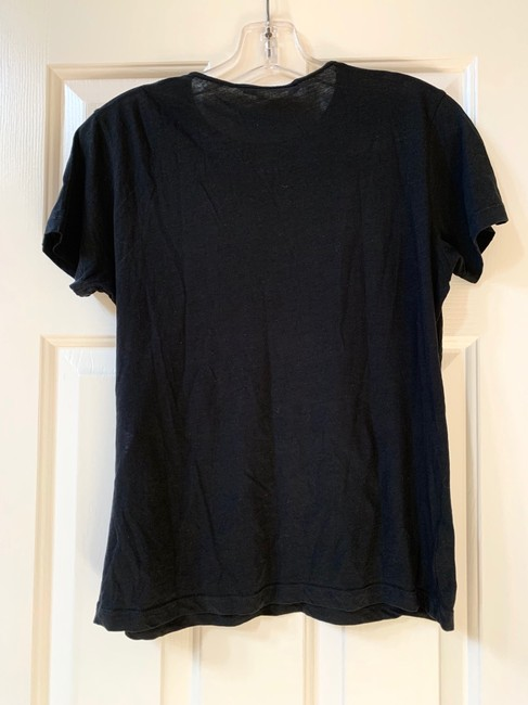Balenciaga T Shirt Black and Yellow Image 1