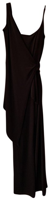 Item - Black Asymmetrical Jumpsuit Pant Suit Size 6 (S)