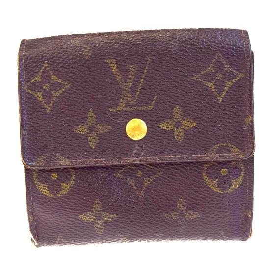 Preload https://img-static.tradesy.com/item/25871739/louis-vuitton-brown-elise-trifold-purse-monogram-leather-wallet-0-0-540-540.jpg