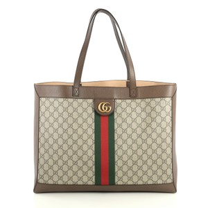 Gucci Ophidia Tote in brown