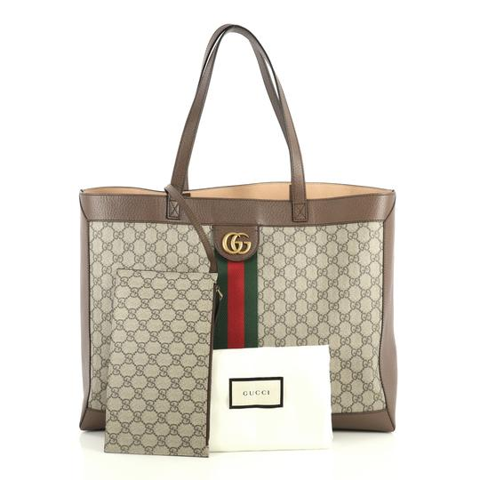 Gucci Ophidia Tote in brown Image 1