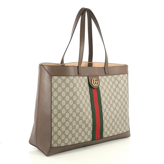 Gucci Ophidia Tote in brown Image 2