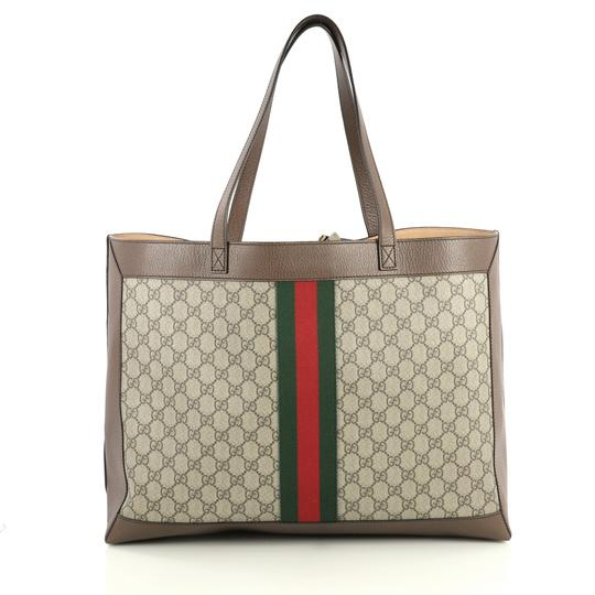 Gucci Ophidia Tote in brown Image 3