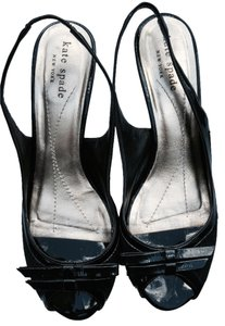 Kate Spade Pump Patent Leather Classic Black Pumps