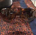 Oliver Peoples Oliver Peoples Tortoise Round Sunglasses w/ Case Image 3