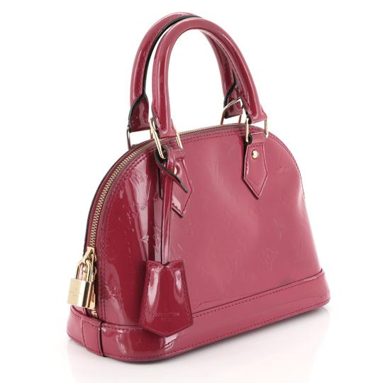 Louis Vuitton Leather Satchel in Pink Image 1