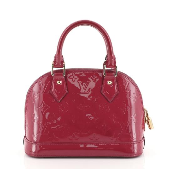 Louis Vuitton Leather Satchel in Pink Image 2