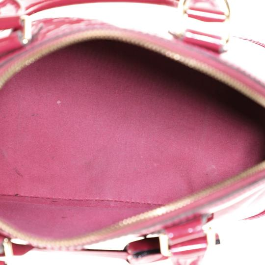 Louis Vuitton Leather Satchel in Pink Image 4