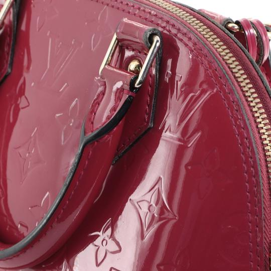 Louis Vuitton Leather Satchel in Pink Image 6