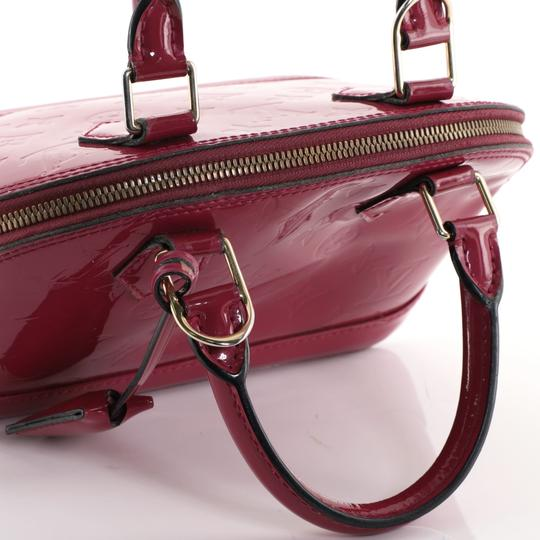 Louis Vuitton Leather Satchel in Pink Image 7