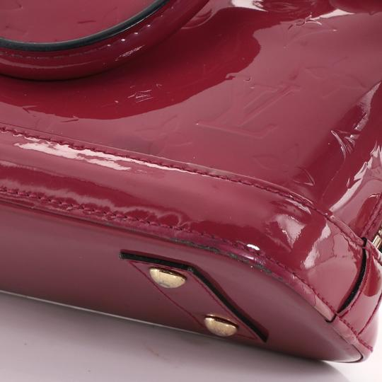 Louis Vuitton Leather Satchel in Pink Image 8