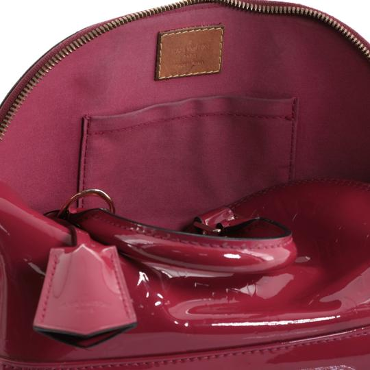 Louis Vuitton Leather Satchel in Pink Image 9