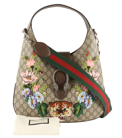 Gucci Dionysus Hobo Canvas Shoulder Bag Image 11