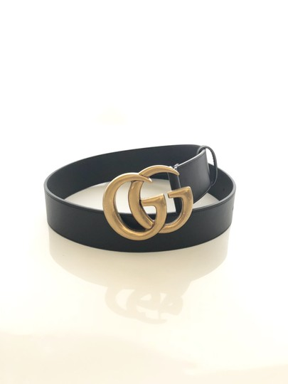Gucci Brand New - Gucci GG Thick Leather Belt - Size 95 Image 2