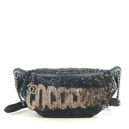 Preload https://img-static.tradesy.com/item/25871855/chanel-waist-coco-cuba-sequins-and-quilted-blue-lambskin-leather-cross-body-bag-0-0-540-540.jpg