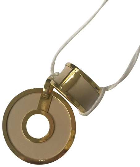 Preload https://img-static.tradesy.com/item/25871890/calvin-klein-nude-color-pendant-with-matching-ring-0-1-540-540.jpg