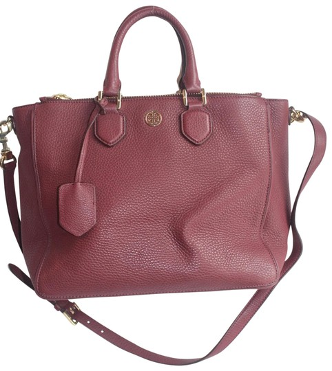 Preload https://img-static.tradesy.com/item/25871895/tory-burch-robinson-square-raspberry-leather-satchel-0-1-540-540.jpg