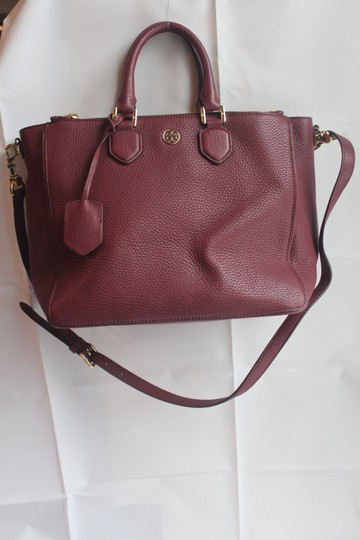 Tory Burch Satchel in Raspberry Image 1