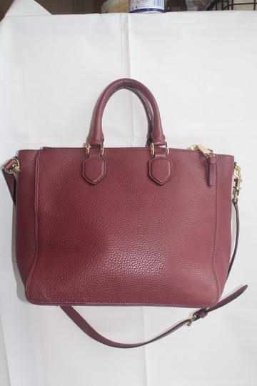 Tory Burch Satchel in Raspberry Image 2