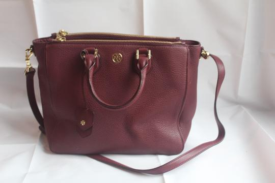 Tory Burch Satchel in Raspberry Image 4