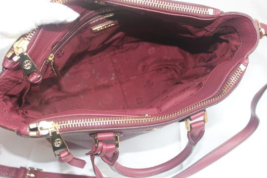 Tory Burch Satchel in Raspberry Image 5