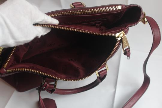 Tory Burch Satchel in Raspberry Image 6