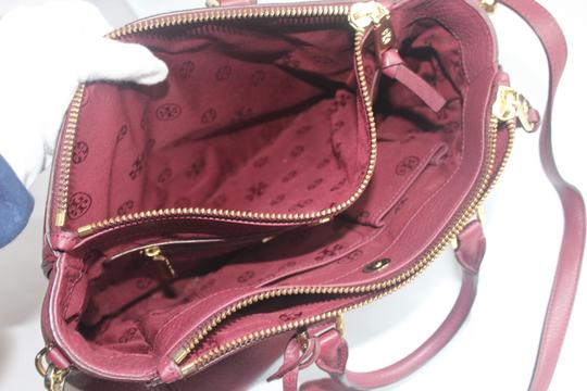 Tory Burch Satchel in Raspberry Image 7