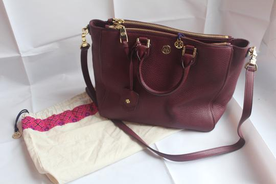 Tory Burch Satchel in Raspberry Image 9