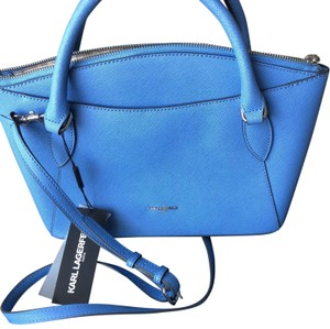 Karl Lagerfeld Satchel in baby blue