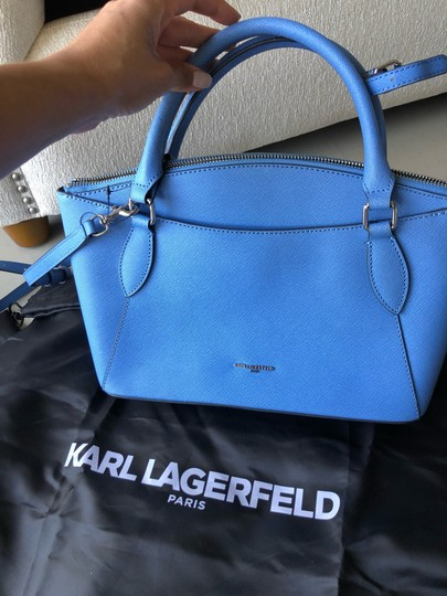 Karl Lagerfeld Satchel in baby blue Image 1