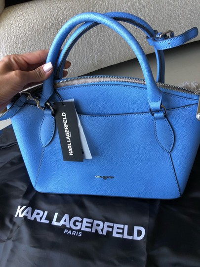 Karl Lagerfeld Satchel in baby blue Image 2