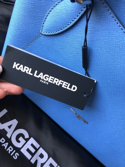 Karl Lagerfeld Satchel in baby blue Image 3