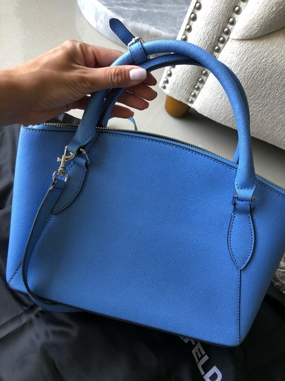 Karl Lagerfeld Satchel in baby blue Image 4