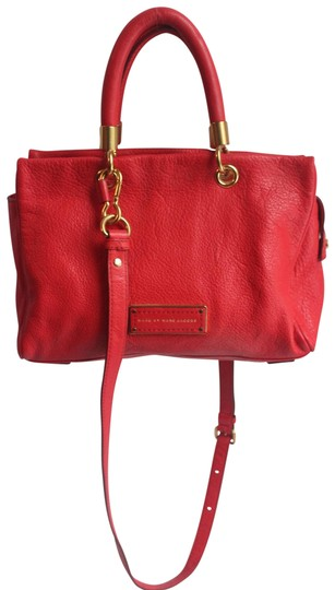 Preload https://img-static.tradesy.com/item/25871933/marc-by-marc-jacobs-hot-to-handle-tote-red-leather-satchel-0-1-540-540.jpg
