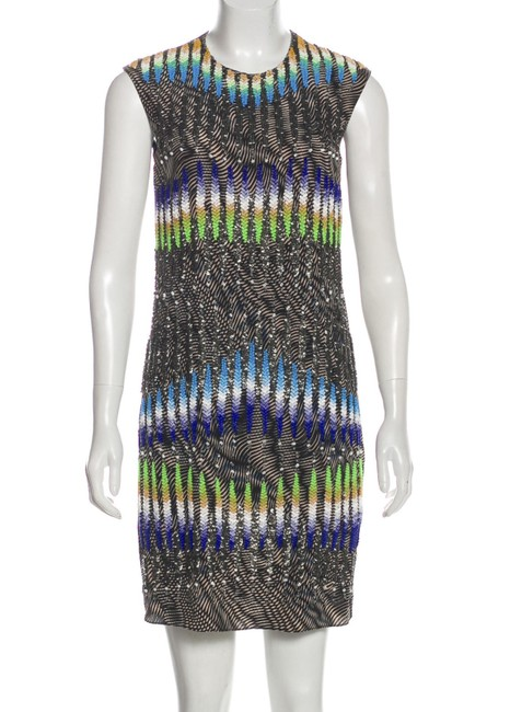 Peter Pilotto Runway Embellished Beaded Mini Dress Image 1