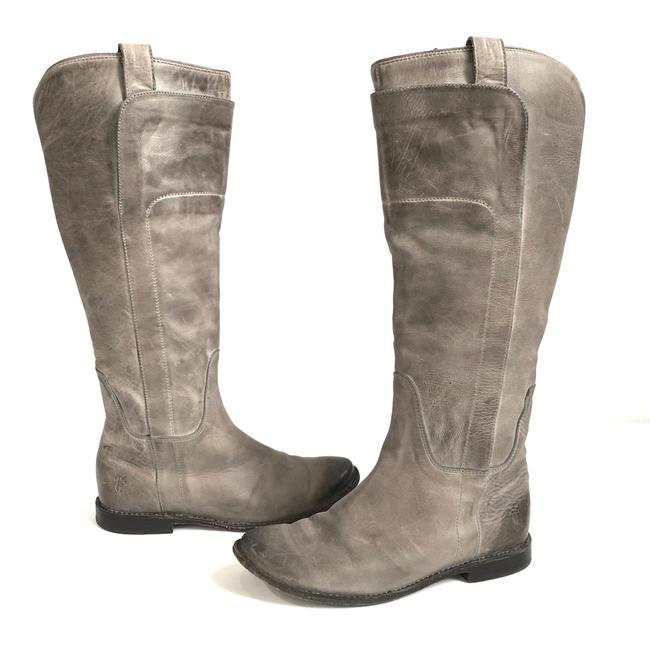 Item - Gray Paige Tall Riding Boots/Booties Size US 6.5 Regular (M, B)