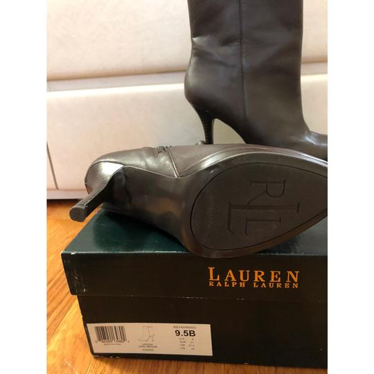 Ralph Lauren brown Boots Image 4