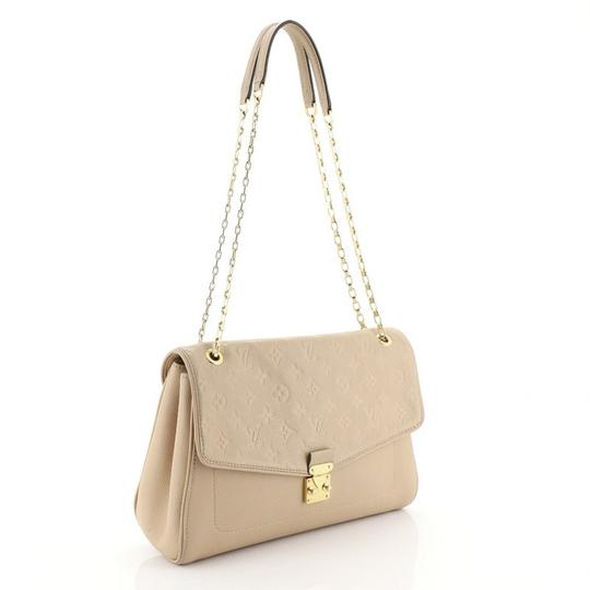 Louis Vuitton Leather Satchel in Neutral Image 1