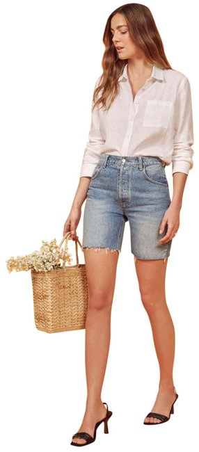 Reformation Cut Off Shorts Image 0