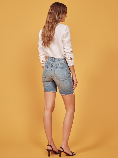 Reformation Cut Off Shorts Image 4