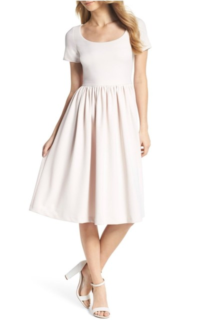 Preload https://img-static.tradesy.com/item/25872063/creampale-pink-milk-annie-scuba-crepe-fit-and-flare-mid-length-cocktail-dress-size-18-xl-plus-0x-0-0-650-650.jpg