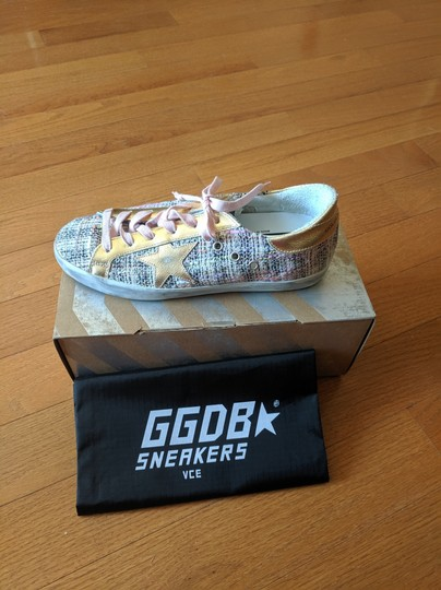 Golden Goose Deluxe Brand pink and gold Athletic Image 2