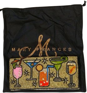 Mary Frances Vintage Beaded Handmade Chic Evening Cross Body Bag