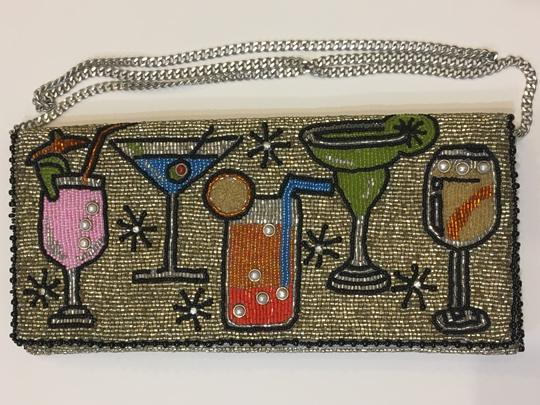 Mary Frances Vintage Beaded Handmade Chic Evening Cross Body Bag Image 2