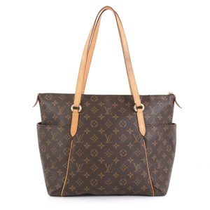 Louis Vuitton Totally Monogram Canvas Tote in brown