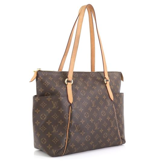 Louis Vuitton Totally Monogram Canvas Tote in brown Image 1