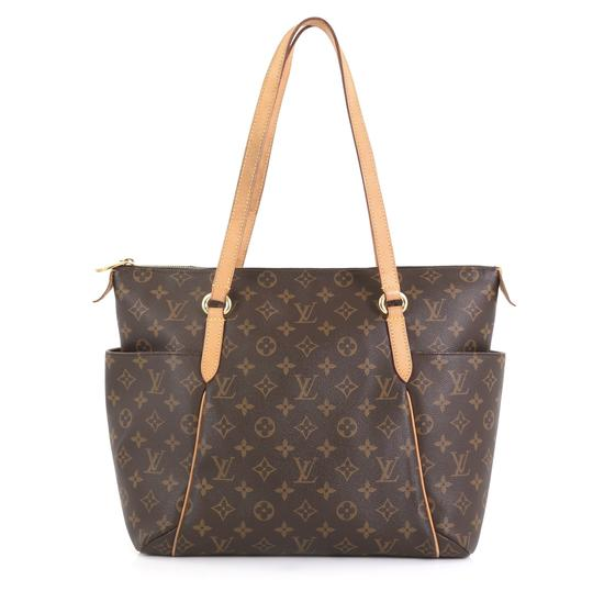 Louis Vuitton Totally Monogram Canvas Tote in brown Image 2